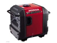 2010 Honda Power Equipment EU3000iSA LIKE NEW Honda's