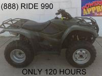 2010 Honda Rancher 420 ATV for sale - only $3,599!!