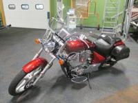 CLEAN 2010 HONDA VT1300CS SABRE WITH ONLY 4,073 MILES!