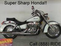 2010 Honda Shadow RS for sale - with only 3,222 miles!