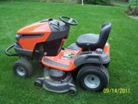 "2010 Husqvarna YTH23/48 Riding mower 23 hp 48"" deck"