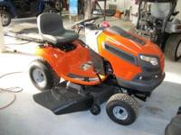 2010 Husqvarna YTH21K46 $1500 Call Jimmy at  Location: