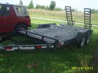 2010 almost new no paint off ramps yet dual axle with