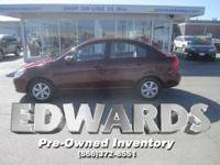This CARFAX 2010 Hyundai Accent GLS is roomy,