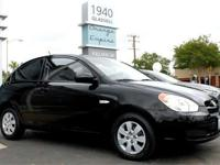Check out this gently-used 2010 Hyundai Accent. Notice