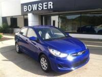 -GREAT FUEL ECONOMY- This 2010 Hyundai Accent 3dr HB