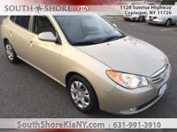 Tan 4D Sedan 2010 Hyundai Elantra GLS FWD 4-Speed