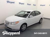 EPA 34 MPG Hwy/26 MPG City! NORDIC WHITE exterior and