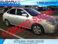 2010 Hyundai Elantra GLS 4D Sedan Quicksilver Metallic