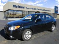 This 2010 Hyundai Elantra GLS PZEV is Well Equipped