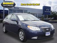 Very Inexpensive, Very Clean Blue Q Certified Elantra