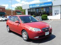 2010 Hyundai Elantra GLS In Apple Red Pearl * MP3- USB