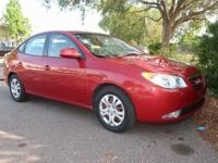 2010 Hyundai Elantra Blue FWD 4-Speed Automatic, 2.0L