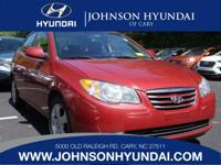 2010 Hyundai Elantra GLS, Clean CarFax, One Owner, and