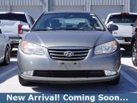 2010 Hyundai Elantra GLS in Liquid Silver Metallic,