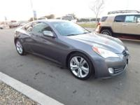 Come see this 2010 Hyundai Genesis Coupe L. It has an