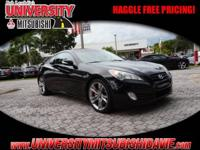 **HAGGLE FEE PRICING** 2010 Hyundai Genesis Coupe  with