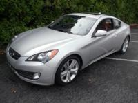 The Hyundai Genesis Coup&& eacute; is a rear-wheel