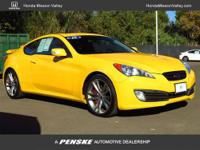 This 2010 Hyundai Genesis Coupe 2dr 2dr 3.8L Auto Coupe