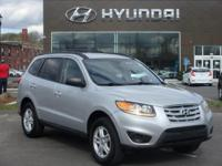 2010 Hyundai Santa Fe GLS one owner with a perfect