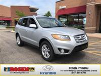**HARD TO FIND** 2010 Hyundai Santa Fe SE with only