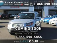 This 2010 Hyundai Santa Fe SE is offered to you for