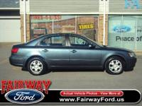This 2010 Hyundai Sonata 4dr GLS Sedan features a 2.4L