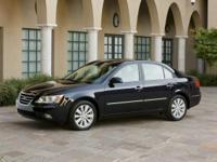 ** 2010 Hyundai Sonata in Black AURORA