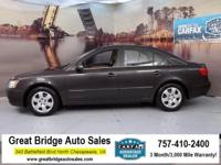2010 Hyundai Sonata CARS HAVE A 150 POINT INSP, OIL