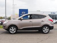 This 2010 Tucson is for Hyundai enthusiasts who are