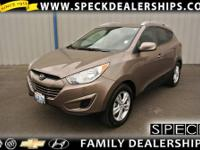 This 2010 Hyundai Tucson is equipped with air