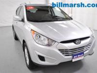Tucson GLS, Silver, Air Conditioning, Auxiliary Outlet,