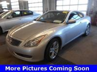 One Proprietor 2010 Infiniti G37x Coupe, Guarantee,