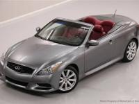 This 2010 Infiniti G37 Convertible 2dr 2dr Anniversary