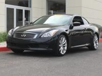 2010 Infiniti G37 We provide 145 point inpection on all