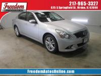 This impeccable G37x with its grippy AWD will handle