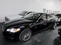 This 2010 Jaguar XF Premium is a Gorgeous MIDNIGHT