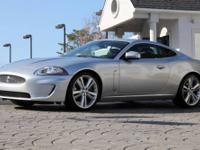 2010 Jaguar XK Coupe *Liquid Silver Exterior and