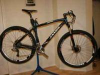 2010 Jamis D29 Pro frame: All of the drive train has