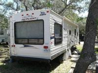 This is a 32 foot Jayco travel trailer. 1 Owner,