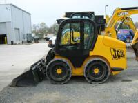 """2010 JCB 190 ROBOT SSL 73""""WoodsLoaderBkt Solids Cab A/C"""