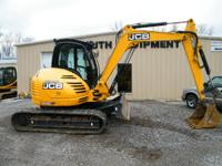 2010 JCB 8085 2010 JCB 8085 Some jobs call for serious