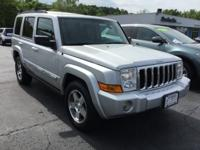 Bright Silver Metallic 2010 Jeep Commander Sport 4WD