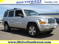 With a price tag at $19,485.00 this Jeep Commander will