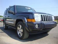 Local Trade! This 2010 Jeep Commander Sport is equipped