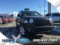 Brilliant Black Crystal Pearlcoat 2010 Jeep Compass