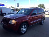 We are excited to offer this 2010 Jeep Grand Cherokee.