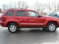 New Price! 2010 Jeep Grand Cherokee Laredo Inferno Red