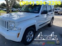White 2010 Jeep Liberty Sport RWD 4-Speed Automatic VLP
