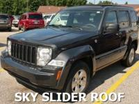 SKY SLIDER MOON ROOF!This 2010 Jeep Liberty has 16-inch